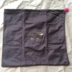 Small Kate Spade dust bag